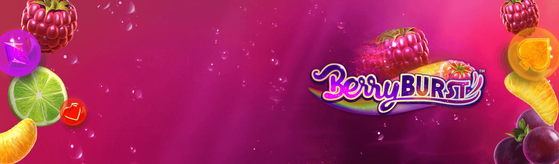 Llega la nueva tragaperras Berryburst a Betsson