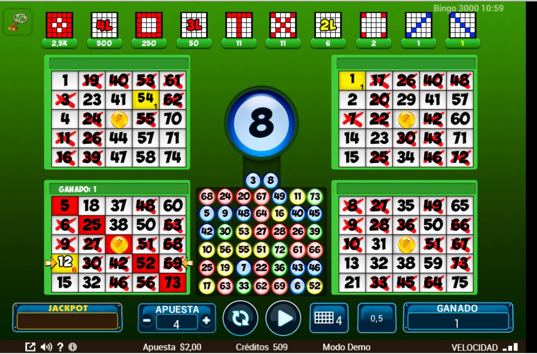 bingo 3000 online