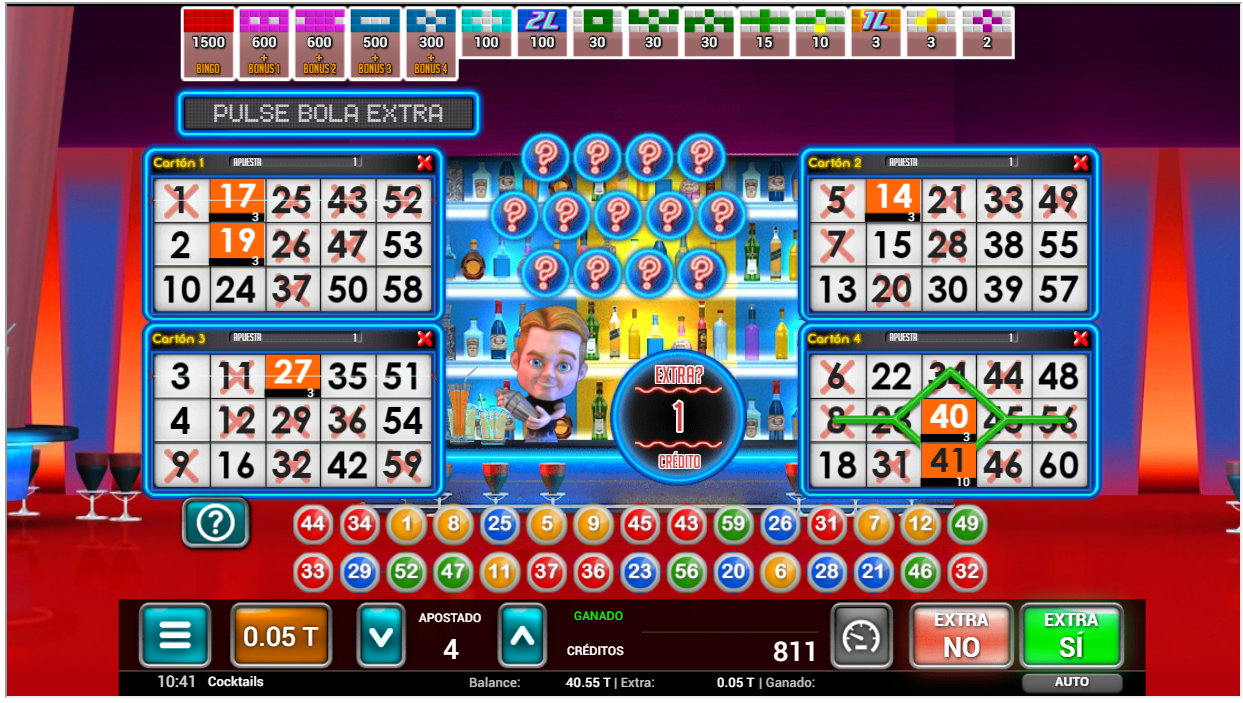 bingo cocktails online