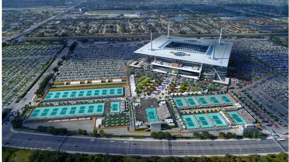 hard rock stadium tennis tenis