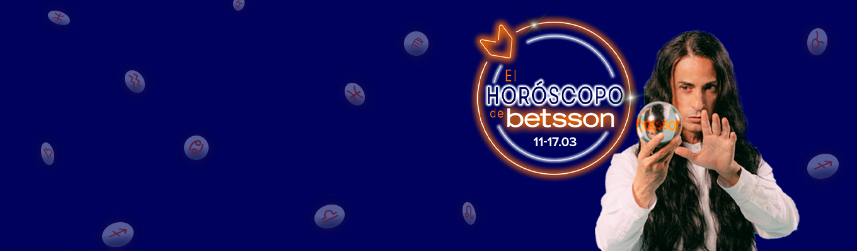 El Horóscopo de Betsson con Sandro Rey: semana del 11 al 17 de marzo