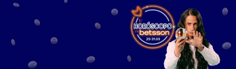 El Horóscopo de Betsson con Sandro Rey: semana del 25 al 31 de marzo