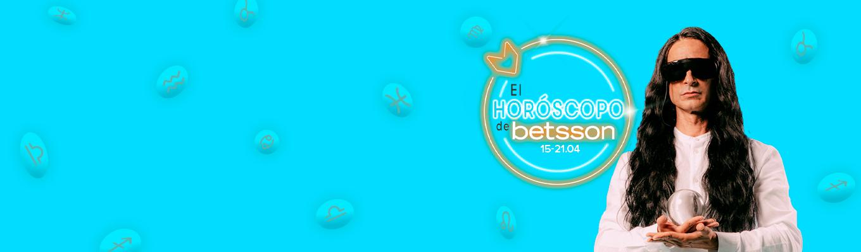 El Horóscopo de Betsson con Sandro Rey: semana del 15 al 21 de abril