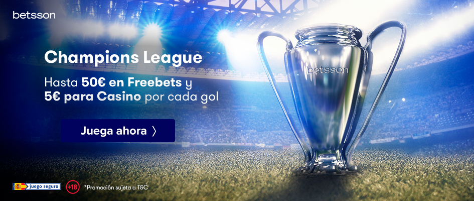 Promoción Freebet Champions League