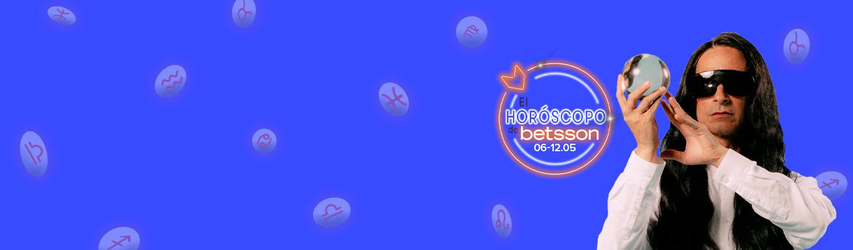 El Horóscopo de Betsson con Sandro Rey: semana del 6 al 12 de mayo