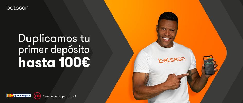 bono bienvenida 100% hasta 100€