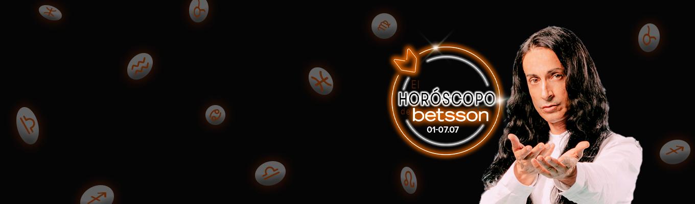 El Horóscopo de Betsson con Sandro Rey: del 1 al 7 de julio