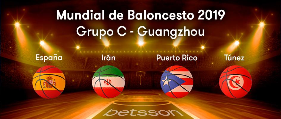 grupo C Mundial de Baloncesto 2019