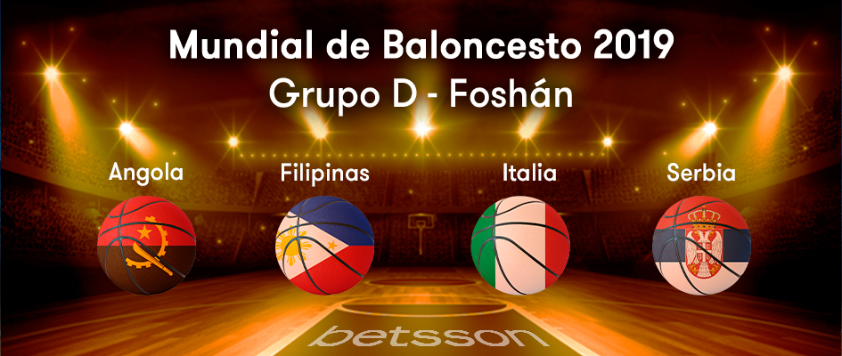 grupo d mundial de baloncesto 2019