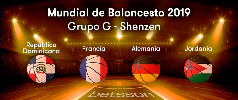 Grupo G Mundial de Baloncesto 2019