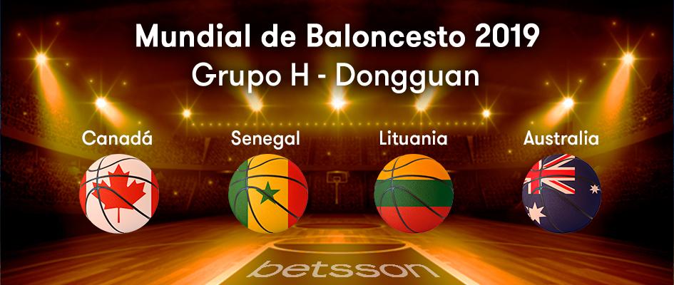 grupo H mundial de baloncesto 2019