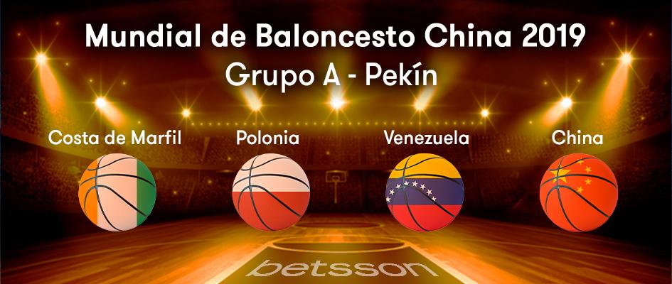 grupo a mundal de baloncesto china 2019
