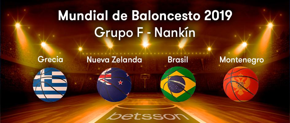 Grupo F Mundial de Baloncesto 2019