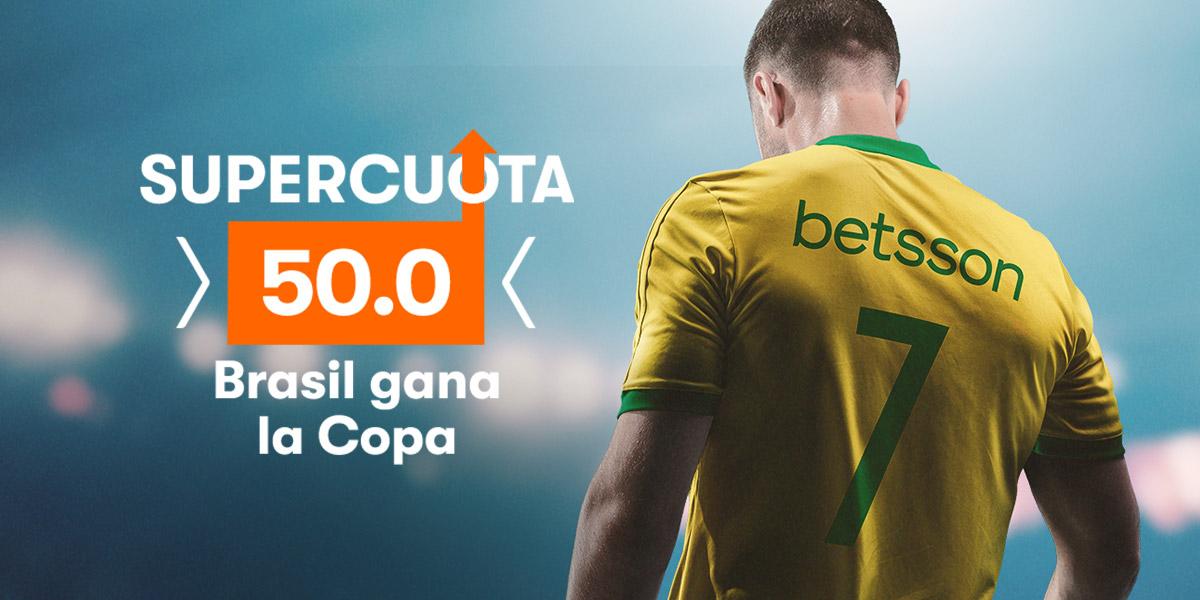 Supercuota 50 Brasil gana la Copa América