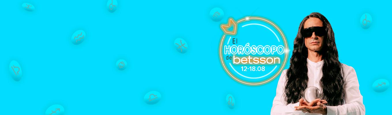 El Horóscopo de Betsson con Sandro Rey: del 12 al 18 de agosto