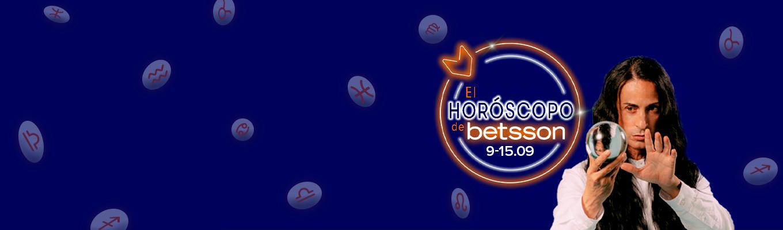 El Horóscopo de Betsson con Sandro Rey: del 9 al 15 de septiembre