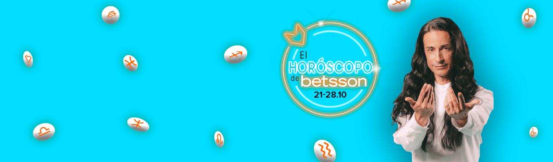 Horóscopo de Betsson con Sandro Rey: del 21 al 27 de octubre