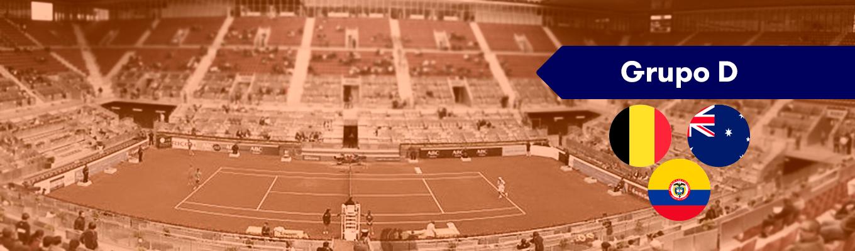 Grupo D Copa Davis: Australia, Bélgica y Colombia