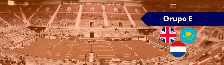 Grupo E Copa Davis: Gran Bretaña, Kazajistán y Holanda