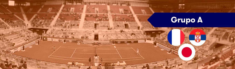 Grupo A Copa Davis: Francia, Japón y Serbia