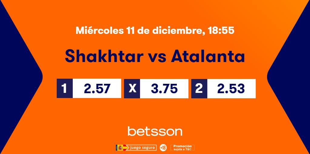 cuotas shakhtar donetsk atalanta champions league previa