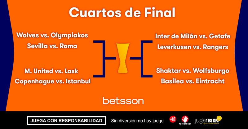 europa league cuartos de final