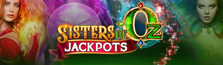 Multiplica por 10.000 tu premio en la slot online Sisters of Oz Jackpots