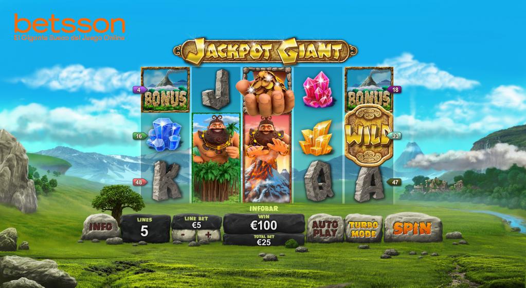 Jackpot Giant partida