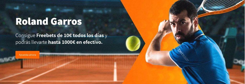 Roland Garros promo
