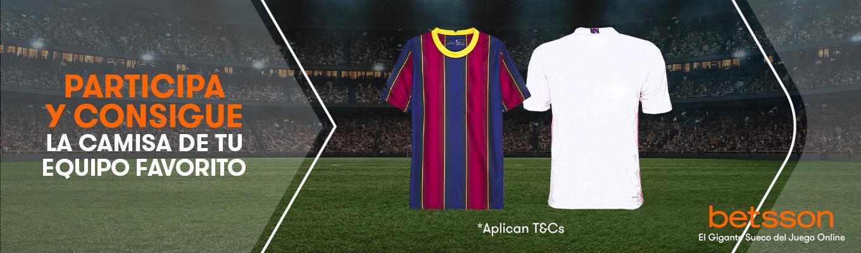 Participa en nuestro sorteo del clásico y llévate una camiseta de tu equipo