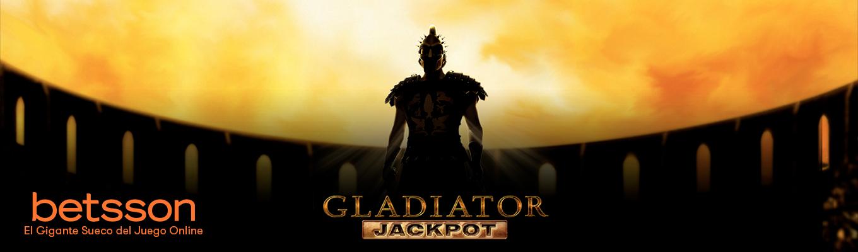 Gladiator Jackpot: Gana el Jackpot Diario de más de 415.000 euros
