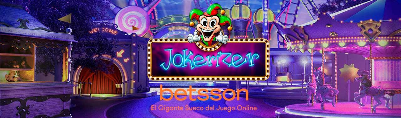 Jokerizer, gana el Jackpot de 6000 monedas