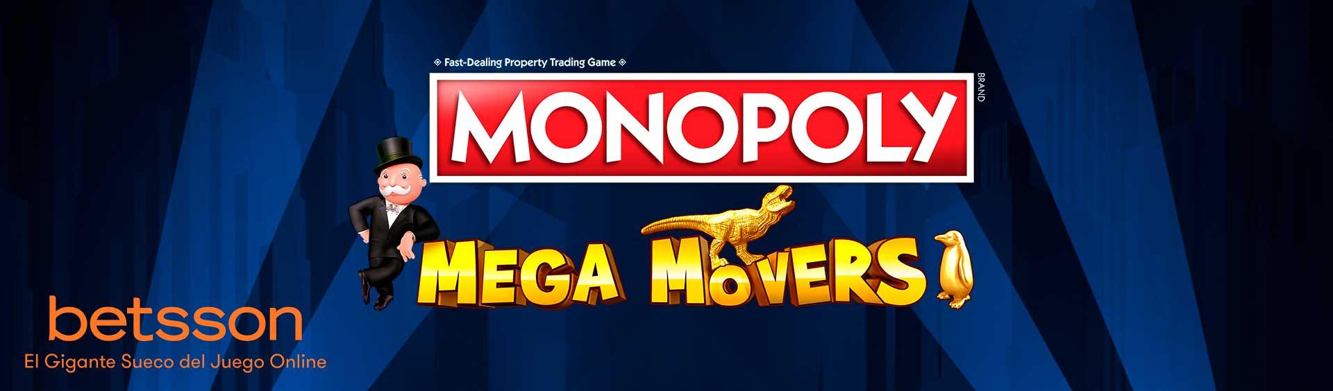 MONOPOLY MEGA MOVERS: MÁXIMA DIVERSIÓN PARA LOS APASIONADOS DEL MONOPOLY