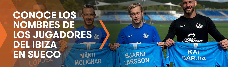 ¿Cómo se llamarían los jugadores del UD Ibiza si fueran suecos?