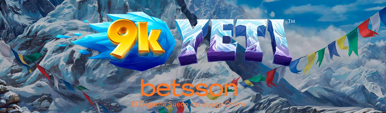 9k Yeti, escala el Everest y gana 225.300 € en esta nueva aventura de Betsson
