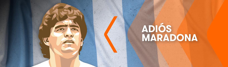 Adiós, Maradona:  Otro Gigante del Juego
