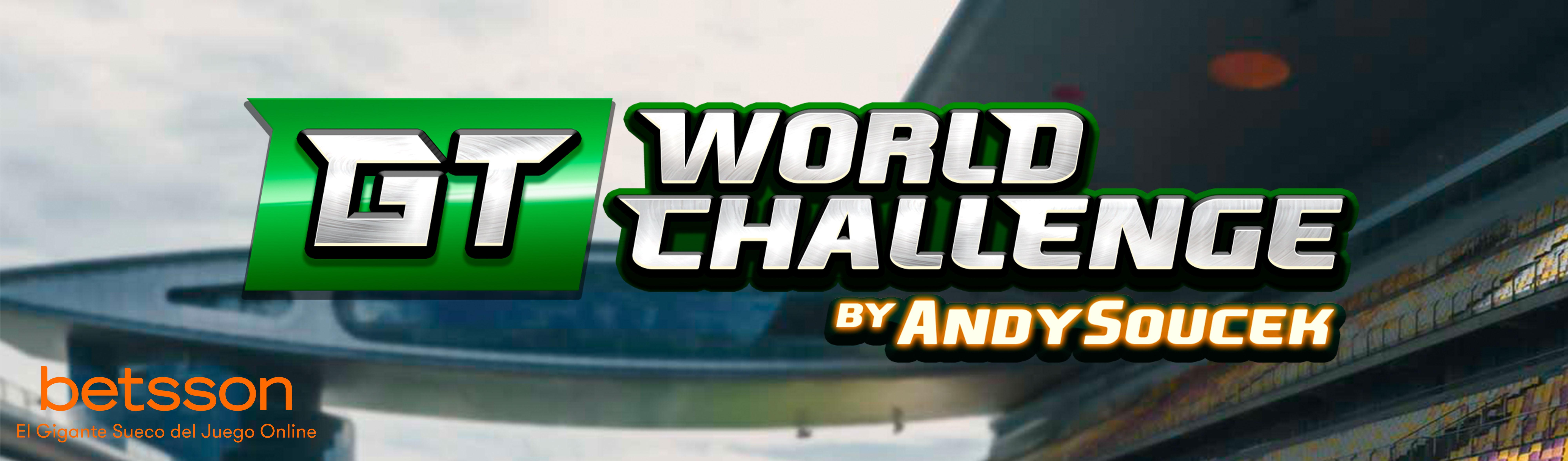GT WORLD CHALLENGE, reta a Andy Soucek y gana en la prueba de automovilismo