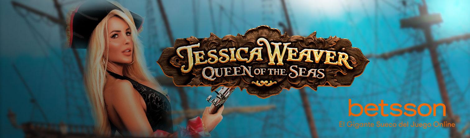 Vive una aventura pirata en el Caribe con la exuberante Jessica Weaver