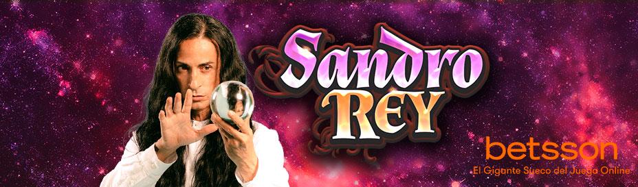 Sandro Rey, magia y esoterismo en la nueva slot online de Betsson