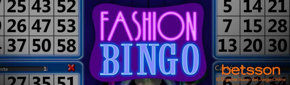 FASHION BINGO, llévate la suerte del bingo contigo