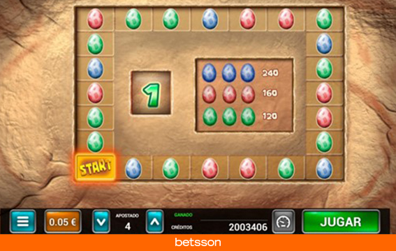Caveman-bingo-minijuego-huevos