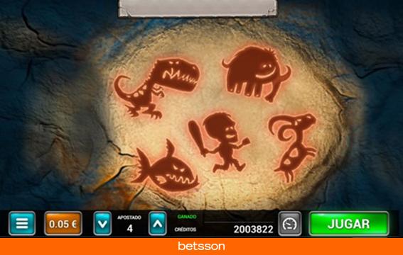 Caveman-bingo-minijuego-pinturas