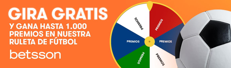Esta NAVIDAD, gira GRATIS la ruleta y gana hasta 1.000 premios.