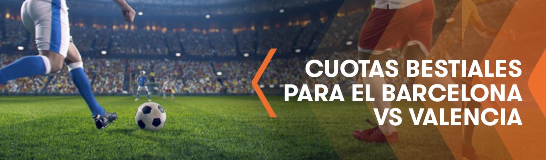 La Liga: Gana con las cuotas bestiales de Julio Baptista para el F.C. Barcelona vs Valencia C.F.