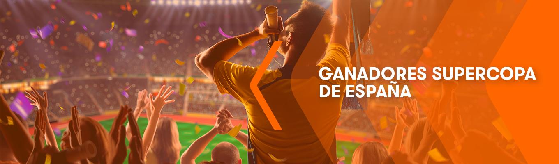 Ganadores del Torneo de Cuotas de la SUPERCOPA de España