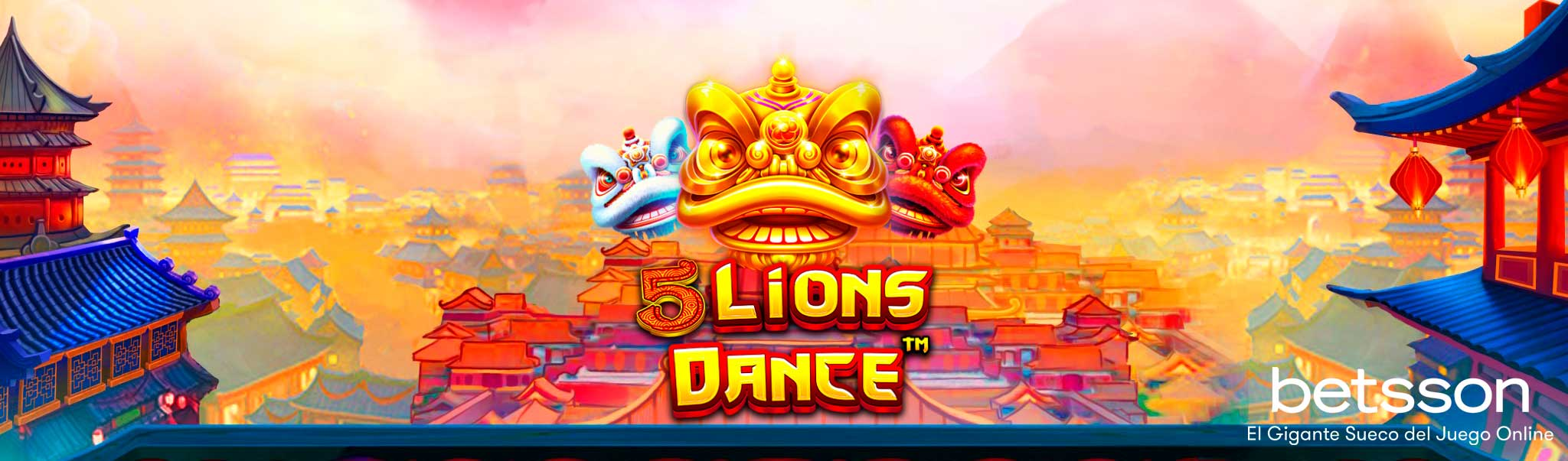 Slot Review 5 Lions Dance