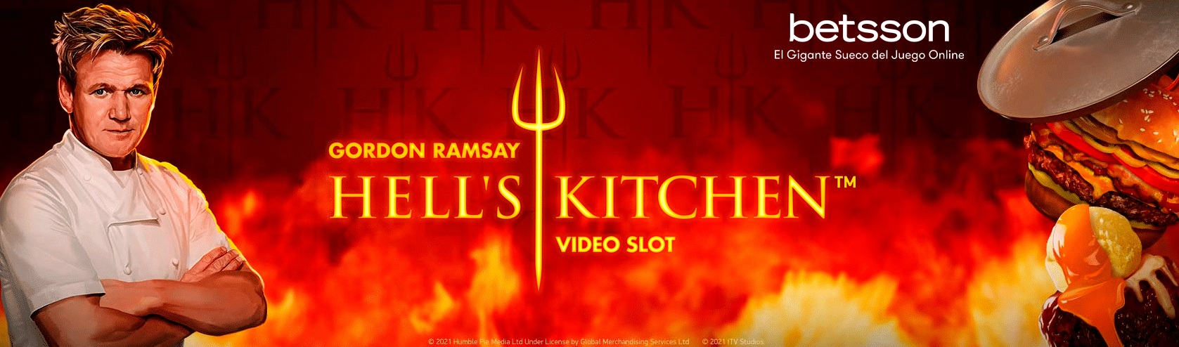 Slot Review Gordon Ramsay: Hell's Kitchen