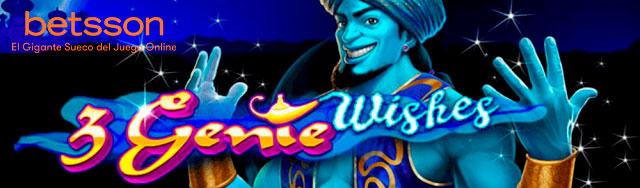 Slot Review 3 Genie Wishes