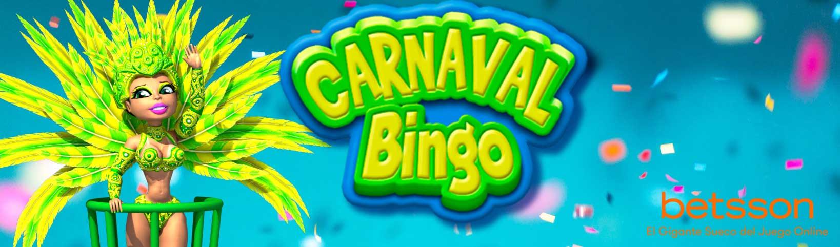 Canta bingo con Carnaval Bingo
