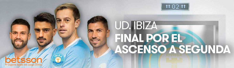 La UD Ibiza a un paso de hacer historia, ¿conseguirá superar al UCAM Murcia y ascender a la Liga SmartBank?